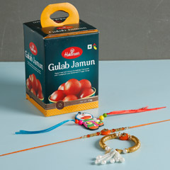 3 Enchanting Rakhis And Gulab ..