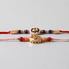 Embellished Beads Rakhis Set O..