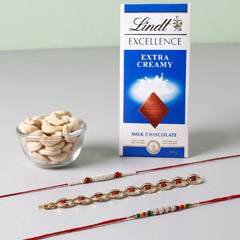 Lindt And Cashew Nuts With Set..