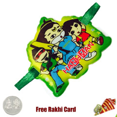 Hanuman Kids Rakhi with Free S..
