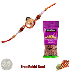 Jewelled Rakhi with 50 grams A..