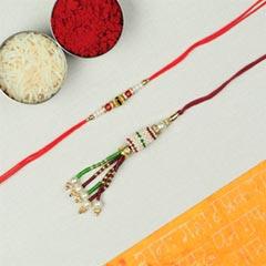 Bhaiya Bhabhi Rakhi Set