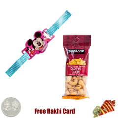 Kids Rakhi with 50 grams Cashe..