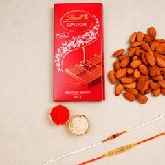 Eleganr Rakhi Set Choclates Ha..