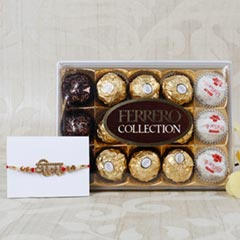 Beautiful Rakhi Set Hamper
