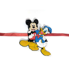 Mickey Donald Rakhi with Free ..