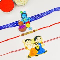Rudraksh & Kids Cartoon 3 Rakh..