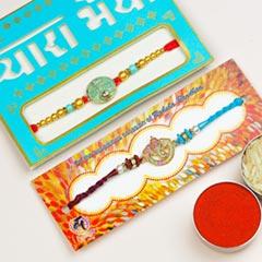 Pair of 2 Traditional Rakhis