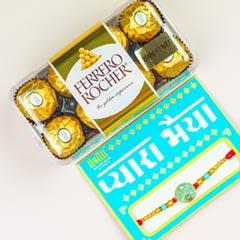 Radhe Radhe Rakhi And Ferrero ..