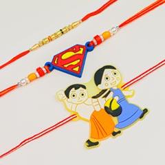 Pearl & Kids Cartoon 3 Rakhi S..