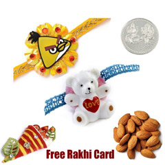 Set of 2 Kids Rakhis with 50 g..