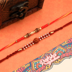 Two Set Of Rakhi