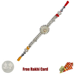 Circle Om Jewelled Rakhi Rakhi..