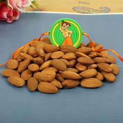 Dry Fruit Rakhi Set Pooja Thal..
