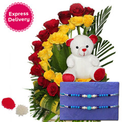 An Affectionate Rakhi Gift