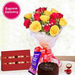 Red & Yellow Hamper