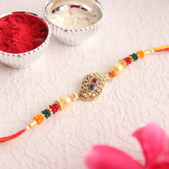 Colourful Beaded Designer Rakh..