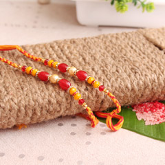 Red Pearl Rakhis