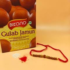 Rudra Rakhi With 1Kg Gulab Jam..