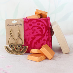 Earrings with Chocolates
