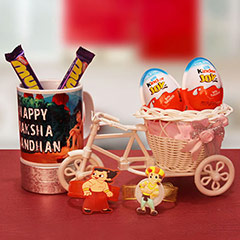 Chocolaty Rakhi Surprise
