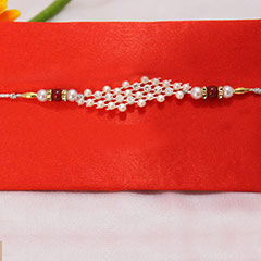 Beautiful Pearl Rakhi