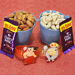 Dry Fruits in Bucket