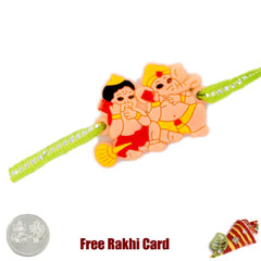 Ganesh Hanman Duo Rakhi with F..