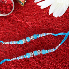 Awesome Blue Rakhi Set