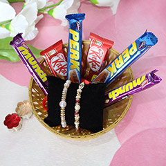 Rakhi with Chocolates