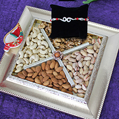 Designer Tray of Dryfruits