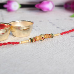 Colorful & Beaded Rakhi