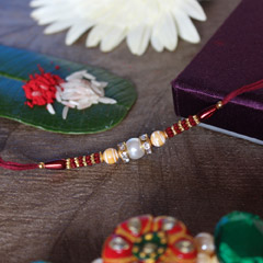 Elegant Rakhi Choice