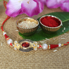 Colourful & Sparkling Rakhi