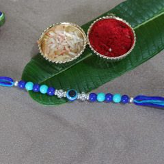 Blue Evil Eye Rakhi