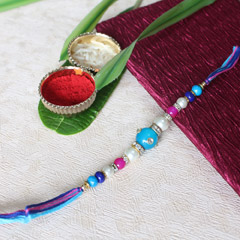 Trendy Beaded Rakhi