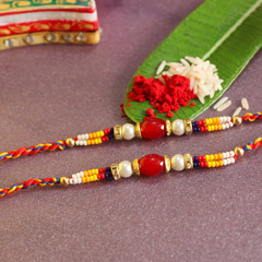 Colorful Beaded Rakhis