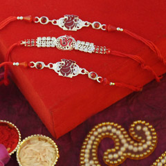 Three Auspicious Rakhis