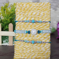 White & Blue Rakhis
