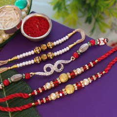 Beautiful & Shiny  Rakhis