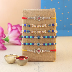Sparkling and Beaded Rakhis