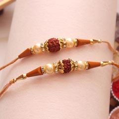 Stunning designer Rakhis pair