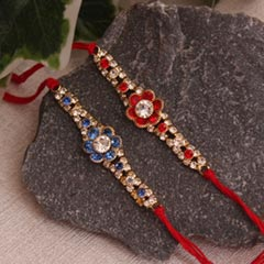 Heart melting set of 2 Rakhi