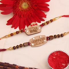 Rakhi set for handsome Brother..