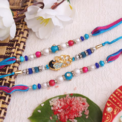 Joyful Rakhi Set of 3