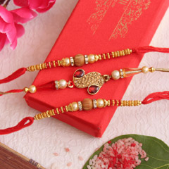 Brilliance Rakhi Set