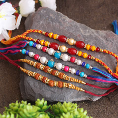Auspicious & Colourful Rakhi