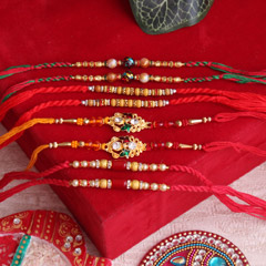 Enchantingly Designed Rakhi