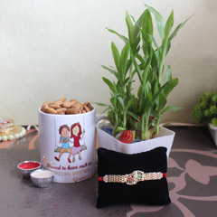 Healthy and happy Rakhi hamper..