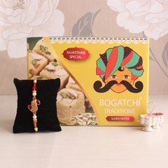 Stunning Rakhi combo for dashi..